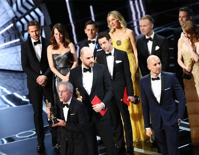 Oscars Mishap