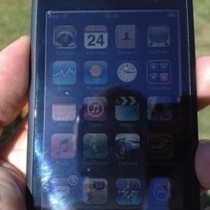 iphone sun