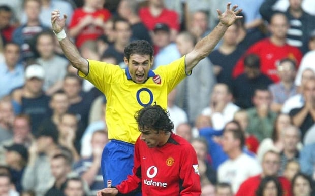 21/9/2003 Premiership Football...Manchester United v Arsenal...Martin Keown goads / taunts and jumps up next to Ruud Van Nistelrooy after the latter missed a penalty...Photo: Offside / NI Syndication.  mail_sender Edd Griffin   mail_subject Classic Man Utd v Arsenal (3) - Keown taunts Van Nistelrooy  mail_date Mon, 27 Apr 2009 17:24:03 +0100  mail_body  Edd Griffin Business Development Manager Offside Sports Photography Ltd  OFFSIDE SPORTS PHOTOGRAPHY Ltd, 271-273 CITY ROAD, LONDON, EC1V 1LA  T: +44 (0) 207 253 3344 F: +44 (0) 207 253 2923 W: www.welloffside.com E: edd@welloffside.com