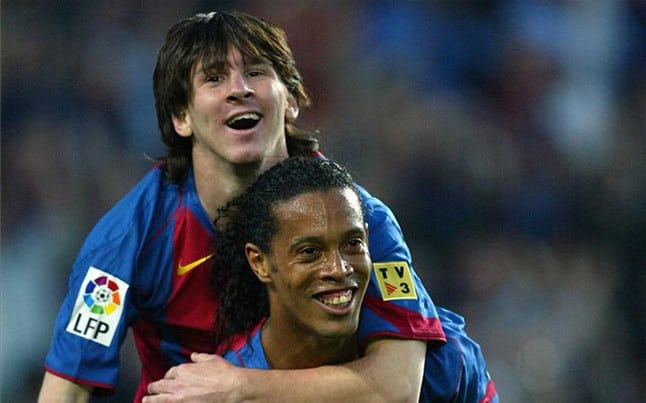 Messi and Ronny