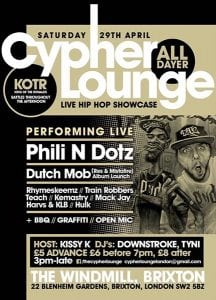 cypher-lounge-alldayer-windmill-brixton-april-2017