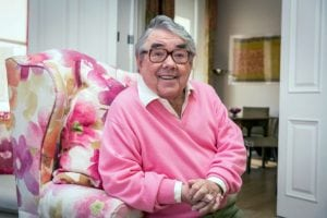 Programme Name: Ronnie's Animal Crackers - TX: n/a - Episode: n/a (No. generics) - Embargoed for publication until: n/a - Picture Shows: Ronnie Corbett - (C) Plum Pictures - Photographer: Guy Levy