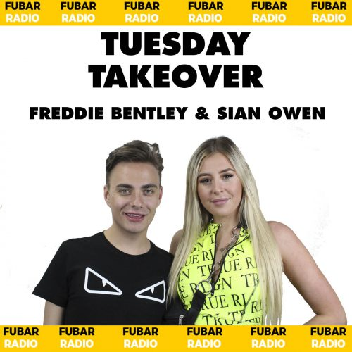 Freddie Bentley & Sian Owen from The Circle's Takeover