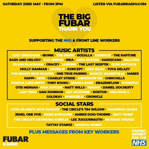 The Big FUBAR Thank You